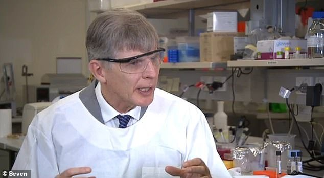 Professor David Paterson (pictured) hopes to have patients enrolled in a clinical trial of the drug by the end of March