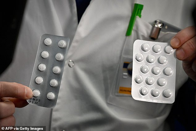 One of the drugs being considered for the trial is an anti-malaria treatment known as chloroquine (pictured)
