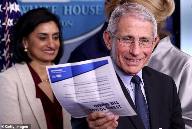 Anthony Fauci, director of the National Institute of Allergy and Infectious Diseases, urged Americans to take the guidelines seriously