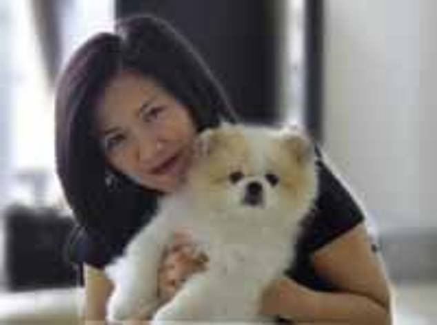 Hongkonger Yvonne Chow Hau Yee, pictured in an undated photo, is believed to be the owner of the dog that has contracted the virus
