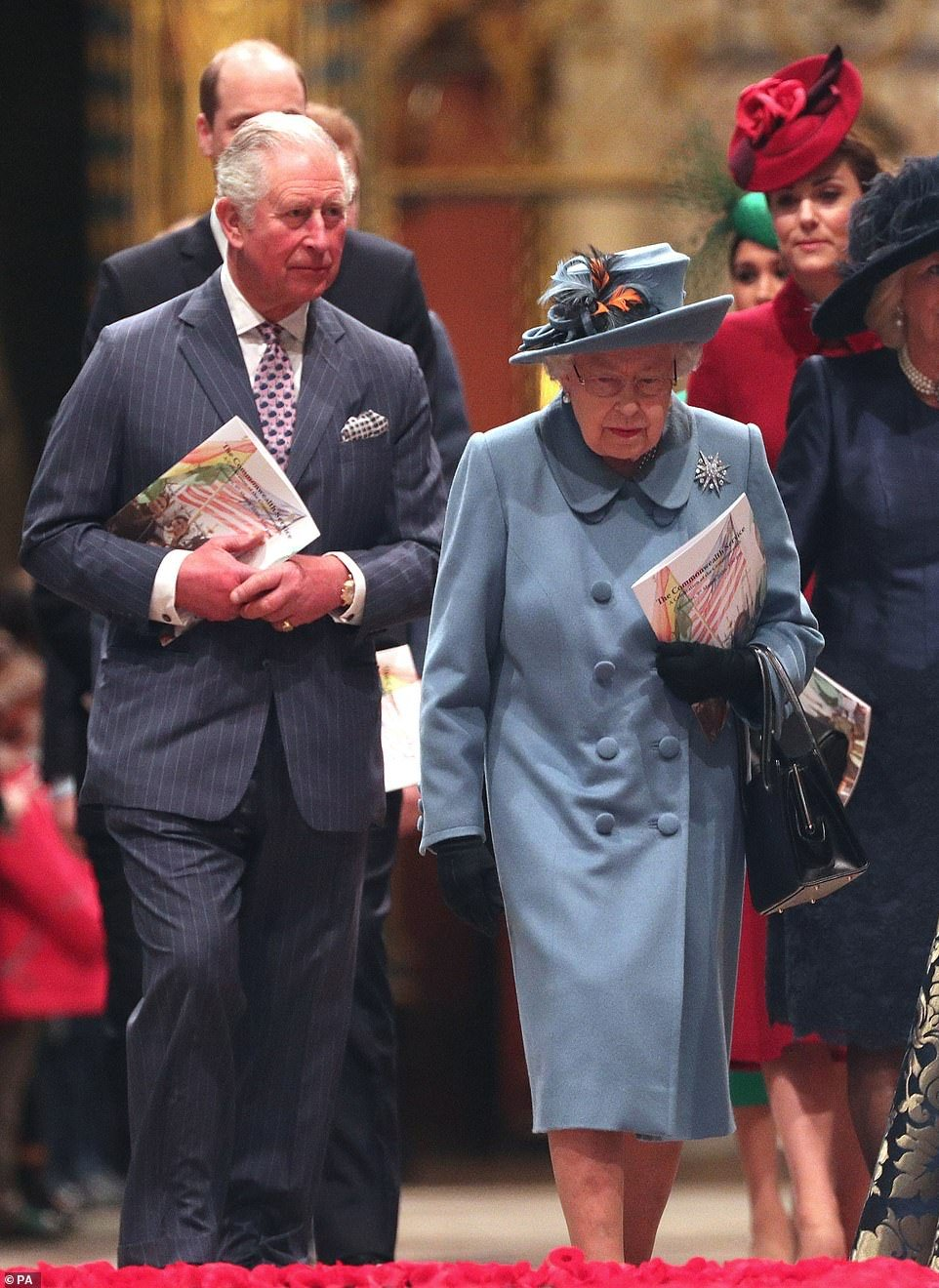 Charles was last seen with the Queen on March 9 at the Commonwealth Service at Westminster Abbey and saw her again on March 12 - 24 hours before his doctor claims he became contagious