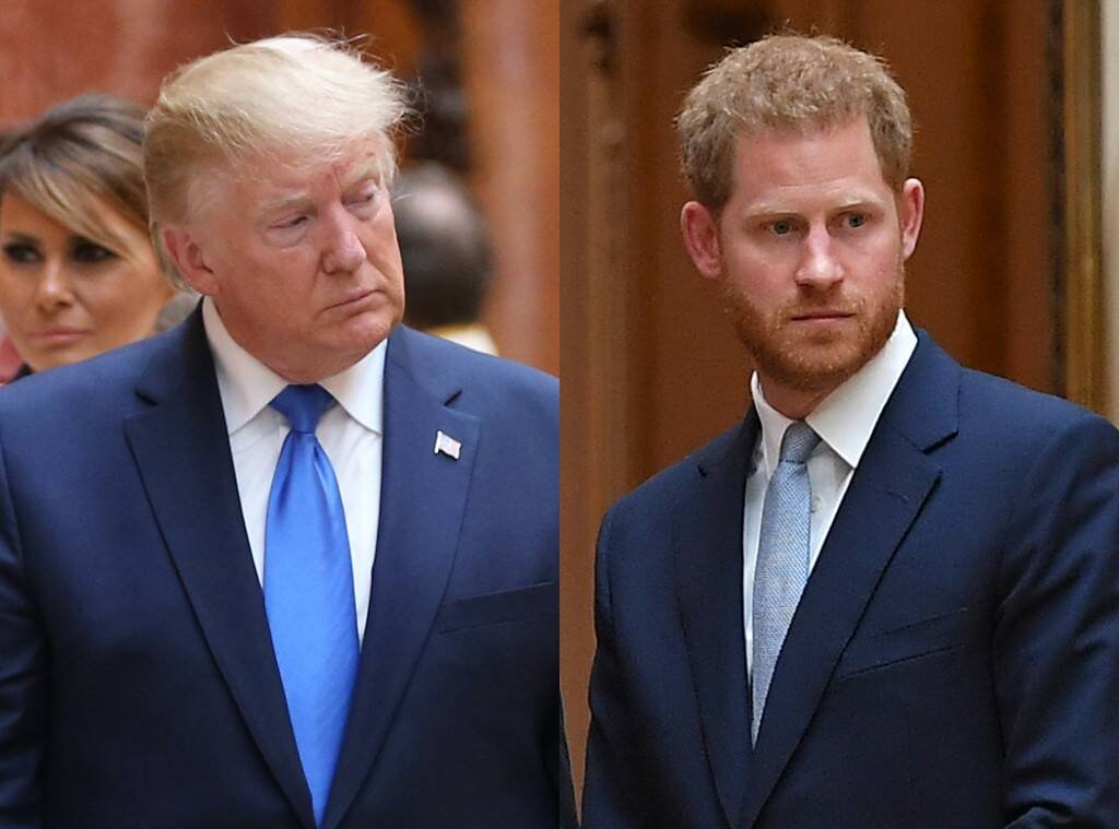 Prince Harry, Donald Trump Attend Exhibit After Meghan Markle ...