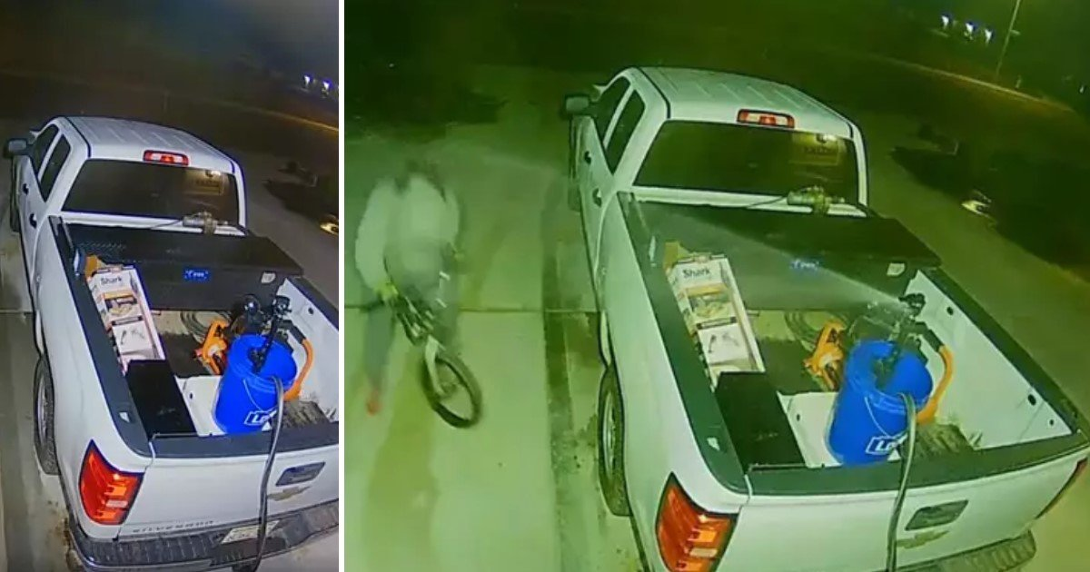 2 7.jpg?resize=1200,630 - Genius Couple Used Motion Sensitive Sprinkler To Keep Car Thieves Away