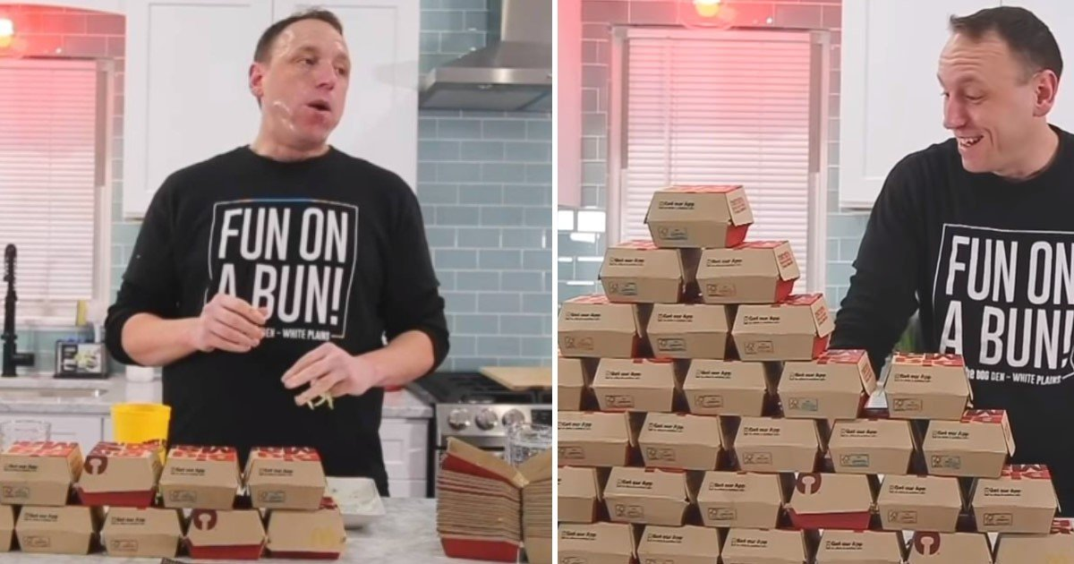 4 35.jpg?resize=412,232 - Competitive Eater Took Less Than 40 Minutes To Annihilate 32 McDonald's Big Macs