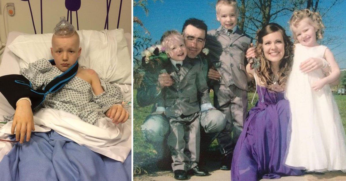 boy died exactly same day mother died.jpg?resize=412,275 - 11-Year-Old Died From Cancer On Exactly The Same Day His Mother Died - His Father Said It Was Planned By His Mother