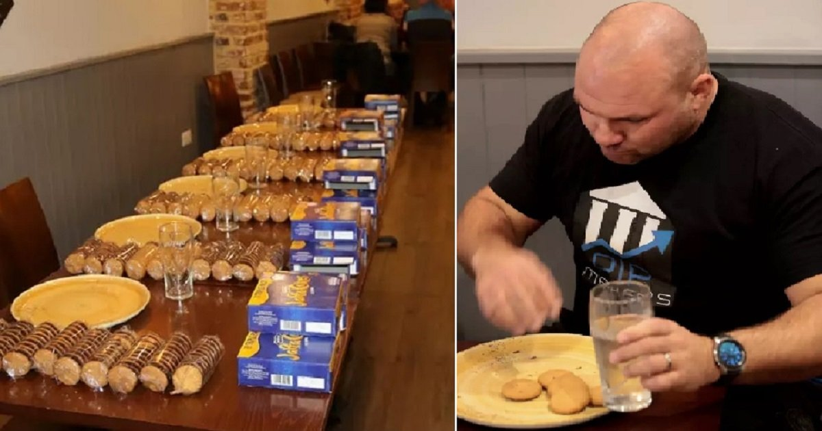 c4.jpg?resize=1200,630 - A Man Ate 36 Jaffa Cakes In Just Three Minutes, Making Him The Unofficial Champ