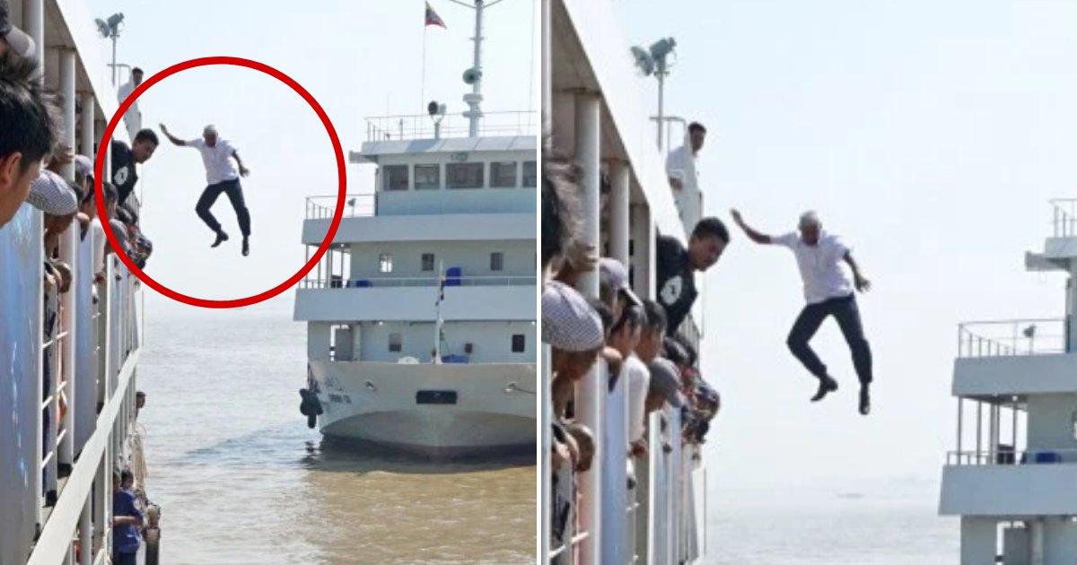 captain6.png?resize=300,169 - Le capitaine d'un bateau a sauté de 12 mètres dans la mer pour sauver une femme en train de se noyer
