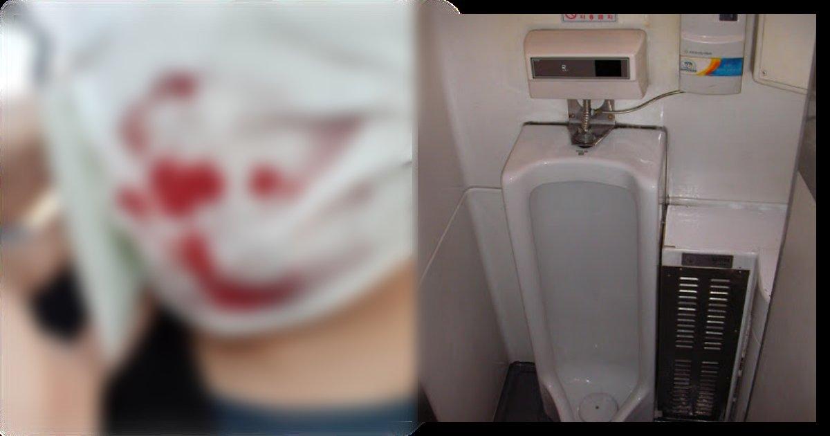 collage 101.png?resize=1200,630 - 무궁화 호에서 갑자기 마스크 전체가 '피'로 젖어 화장실에 격리된 '남성'