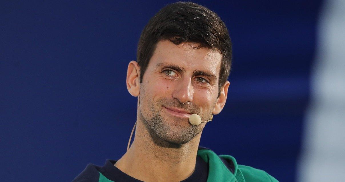 djoko.jpg?resize=412,232 - Belle action: Novak Djokovic a fait don d'un million d'euros à la Serbie pour lutter contre le Covid-19
