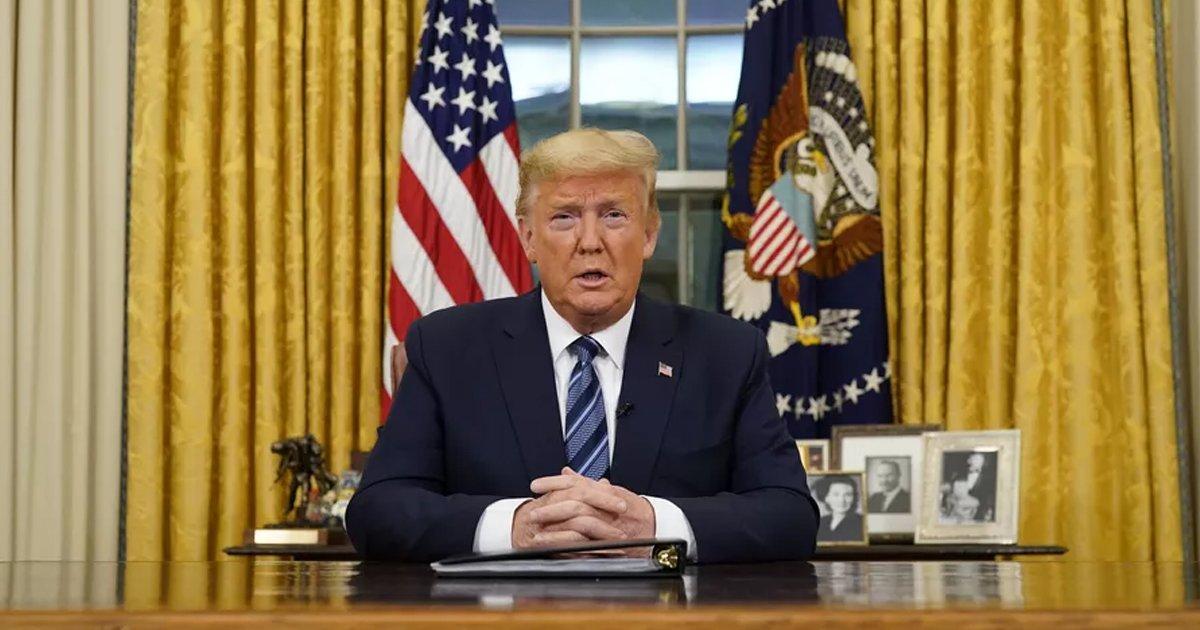 fdfdfdfdddd.jpg?resize=1200,630 - Breaking: Trump Suspends Travel From Europe For 30 Days Amid Coronavirus Pandemic
