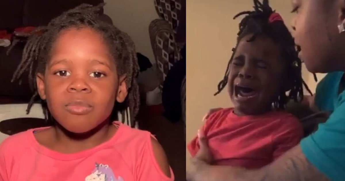 four year old girl calls herself ugly and bursts into tears when she is told she is beautiful in a viral video.jpg?resize=412,232 - Four-Year-Old Girl Called Herself 'Ugly' And Bursted Into Tears When She Was Told 'She Is Beautiful'