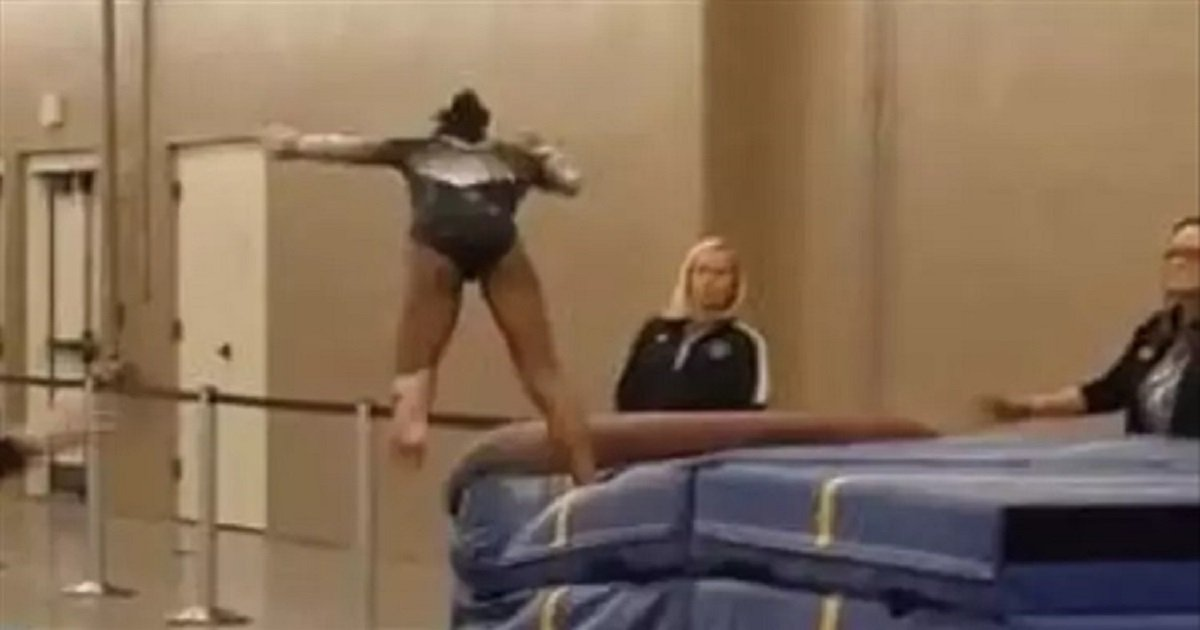 g3.jpg?resize=1200,630 - Gymnast Narrowly Avoided Serious Injury, All Thanks To Her Quick-Thinking Coach
