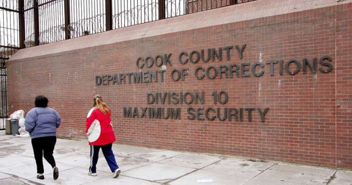 getty cook county jail.jpg?resize=1200,630 - Chicago's Cook County Jail Reports 101 Inmates Tested Positive For Coronavirus