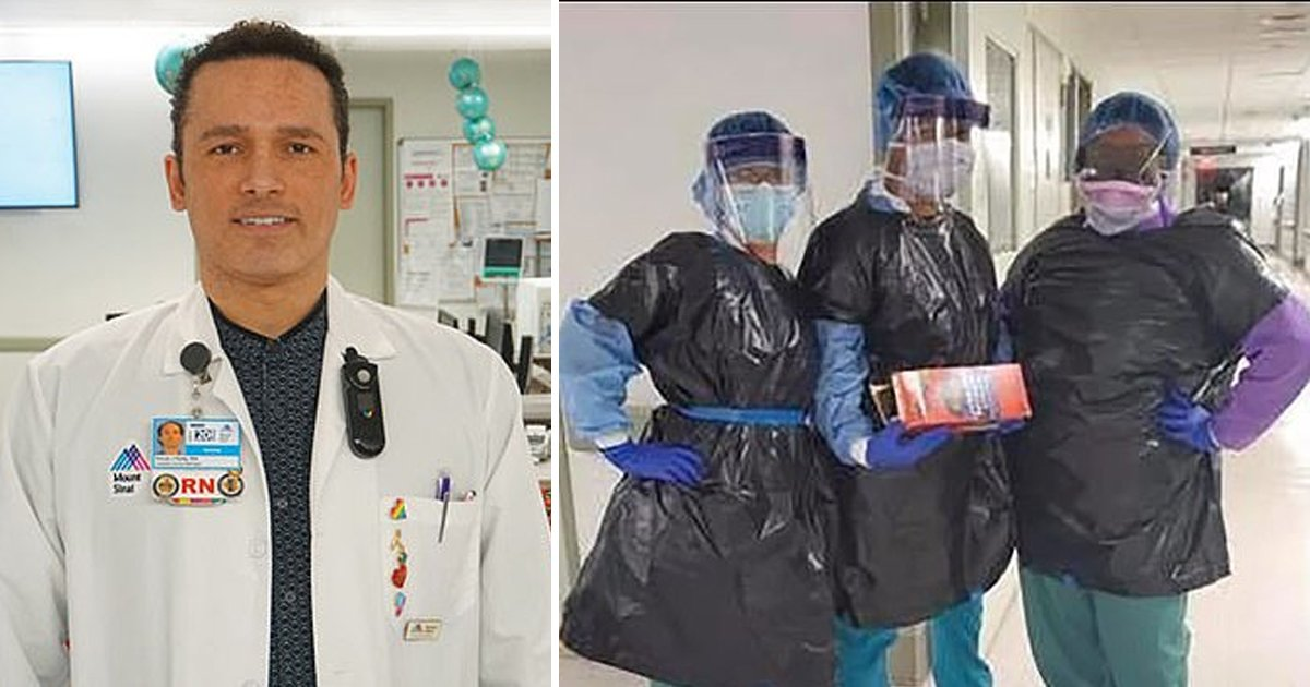 gsgsgsgsss.jpg?resize=1200,630 - Employee At A NYC Hospital Dies Of Coronavirus Where Nurses Were Forced To Wear Trash Bags As Protective Equipment