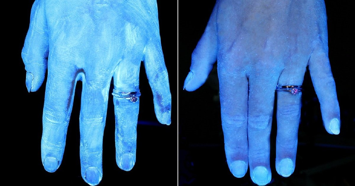 h7.jpg?resize=1200,630 - Amazing UV Pictures Showed The Importance Of Washing Your Hands Properly