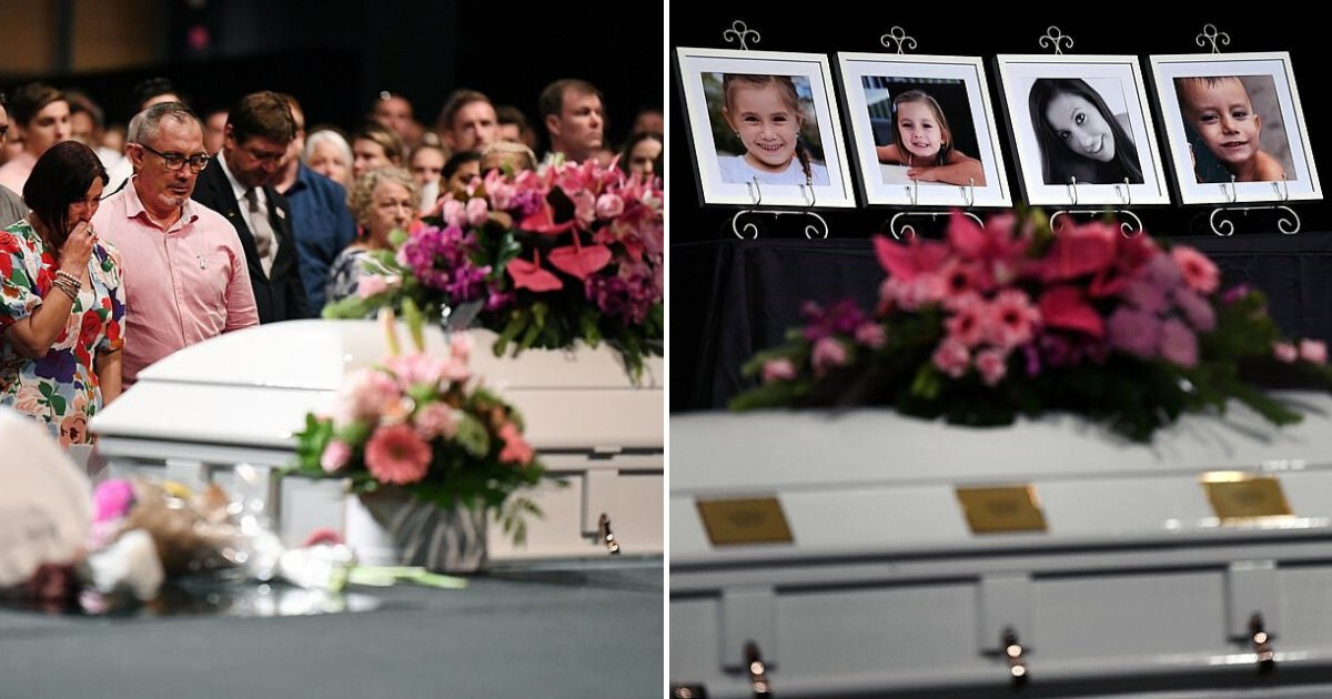 hannah9.png?resize=1200,630 - 31-Year-Old Mother And Her Three Children Were Placed Inside One Coffin As Hundreds Of Mourners Said Their Goodbyes