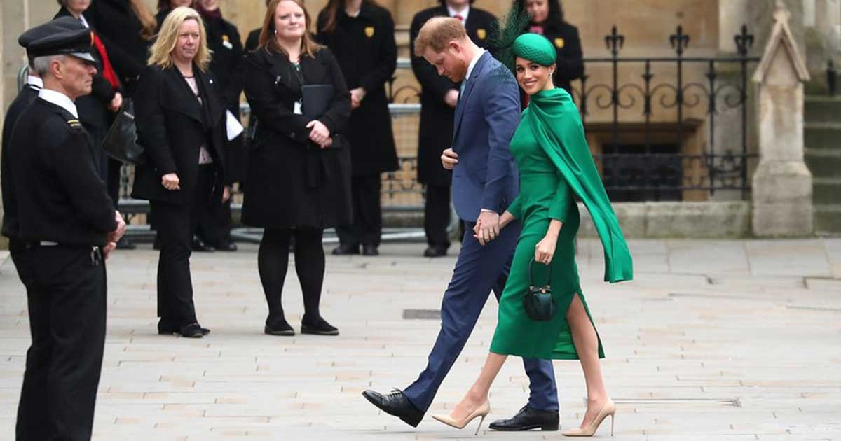 hbz commonwealth day 2020 gettyimages 1211361892 index 1583768230.jpg?resize=1200,630 - Harry And Meghan Attends The Annual Commonwealth Service at Westminster Abbey