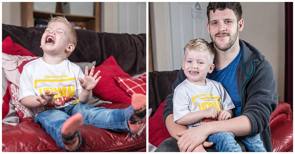 header 37.jpg?resize=1200,630 - Un Bebé Que Siempre Sonreía En Realidad Tenía Un Raro Tumor Cerebral