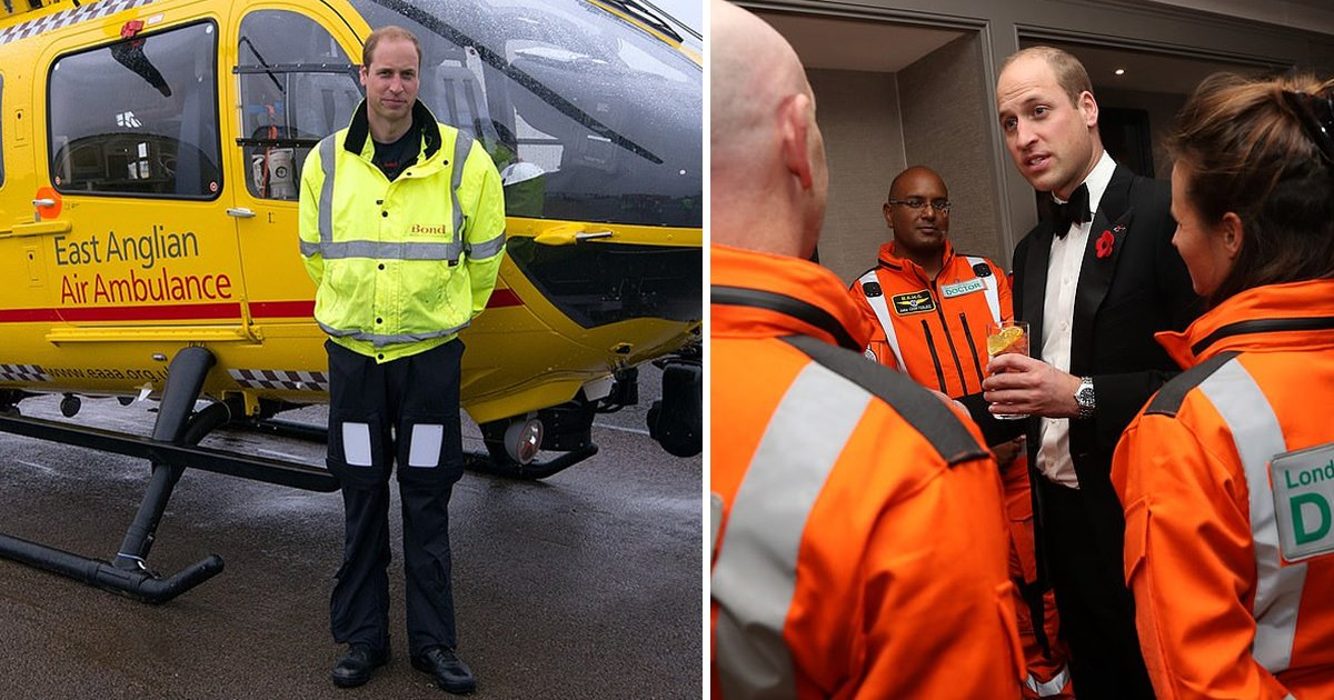 hhhh.jpg?resize=1200,630 - Breaking: Prince William Wants To Fight Coronavirus By Returning To The NHS As Air Ambulance Pilot