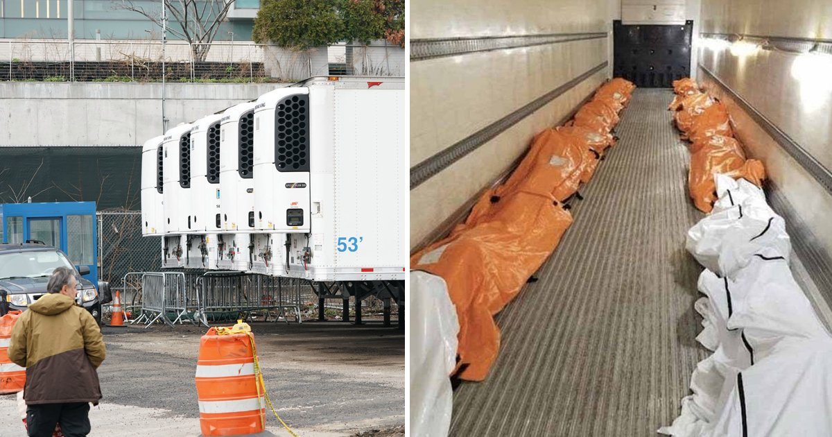 hsss.jpg?resize=1200,630 - Makeshift Morgues Being Built In New York As Dead Bodies Are Loaded Into Refrigerated Trucks Outside Hospitals