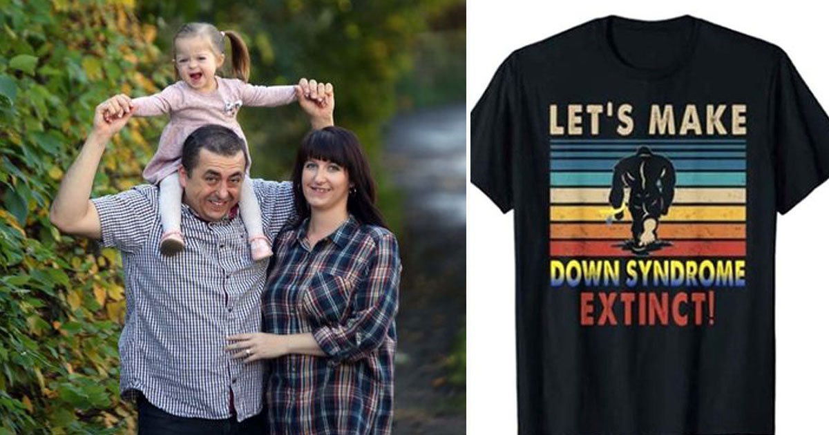 "lets make down syndrome extinct slammed amazon.jpg?resize=412,232 - Mothers Slammed ""Let's Make Down Syndrome Extinct"" T-shirt Selling On Amazon"