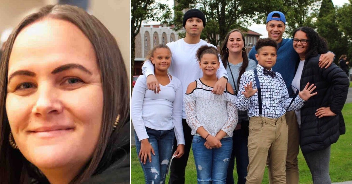 mother of six died corona after beating cancer.jpg?resize=412,232 - Single Mother-of-six - Who Beat Breast Cancer - Died From Coronavirus