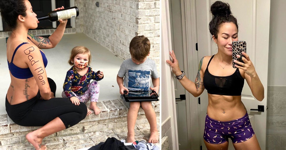 mother shared message for bad moms.jpg?resize=300,169 - Mother-of-two - Who Is Trolled For Having Tattoos And Piercings - Shared A Heartfelt Message For All The 'Bad Moms'