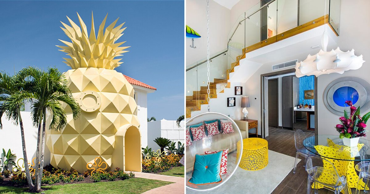 pineapple8.png?resize=1200,630 - SpongeBob SquarePants' Pineapple House Is Now A Real-Life Villa
