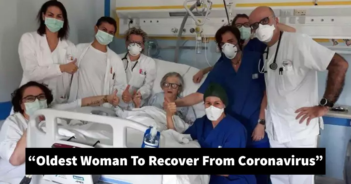 sgsgsg.jpg?resize=1200,630 - Breaking: A 95-Year-Old Italian Grandmother Becomes The Oldest Woman To Recover From Coronavirus