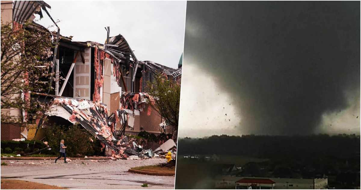 thumbnailssss.jpg?resize=1200,630 - A Blessing In Disguise: Tornado Rips Through A Mall In Arkansas, Empty Because Of Coronavirus
