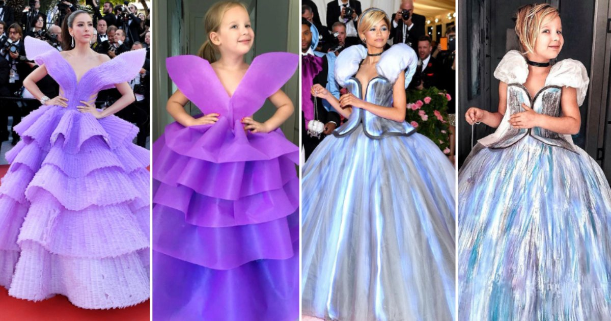 untitled design 102.png?resize=1200,630 - Look At How This Talented Mother-Daughter Duo Recreated Famous Red Carpet Looks