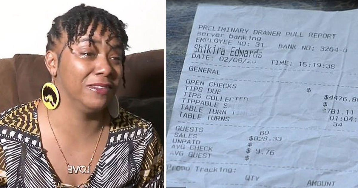 waitress sue dennys 4000 dollar tip not received.jpg?resize=412,275 - Waitress - Who Received $4,000 Tip - Planning To Sue Denny's As They Have Refused To Give Her The Money