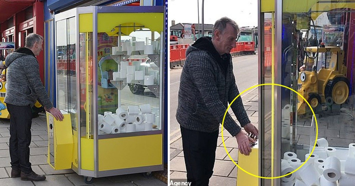 whatsapp image 2020 03 08 at 9 11 14 pm.jpeg?resize=412,232 - Amusement Arcade Replace Toys With Bog Size Toilet Tissue Rolls In A 30p-a-go Grabber Machine Amid Coronavirus Panic In UK