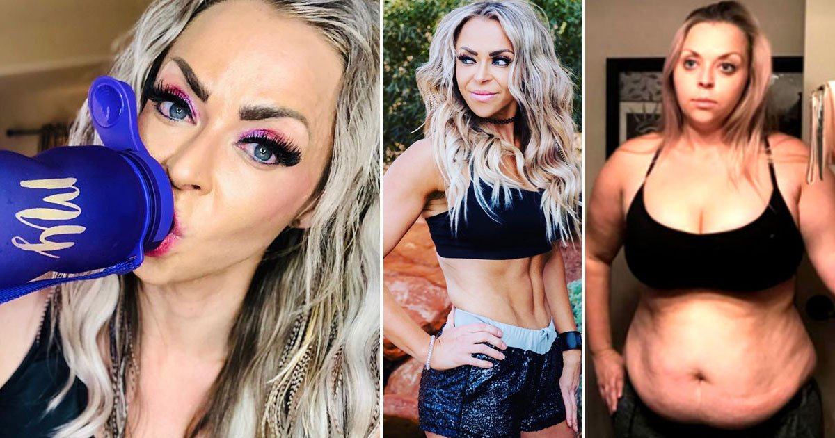 woman lost 7 stone slimming drink.jpg?resize=412,232 - Woman - Who Once Weighed 17 Stone - Lost 7 Stone Without Going To The Gym
