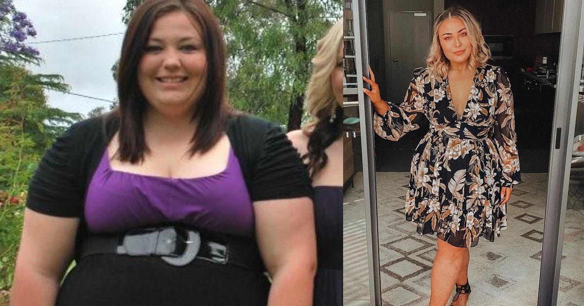 woman who was removed from an amusement park ride for being too big lost 51kg with the help of ketogenic diet.jpg?resize=1200,630 - A Woman Who Was Once Removed From An Amusement Park Ride Due To Her Size Lost 51Kg With The Help Of Ketogenic Diet