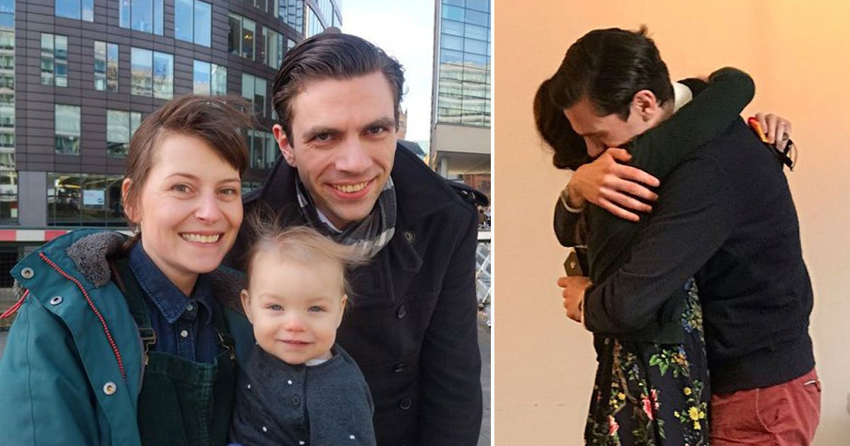 womans life saved by stranger.jpg?resize=412,232 - Woman - Who Was Given Only Months To Live - Finally Met The Man Who Saved Her Life And Gave Her A Chance To Become A Mother