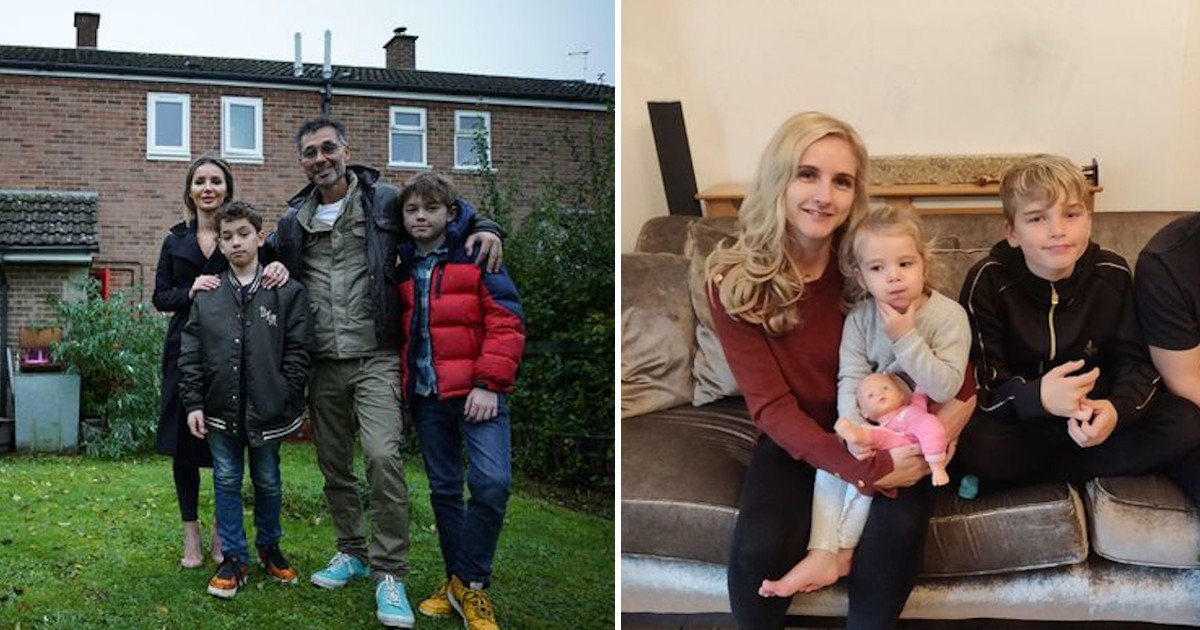 1 40.jpg?resize=1200,630 - Rich Family With Perfect Life Swapped Their Lives With A Family Who Lives Off £45, Including Food