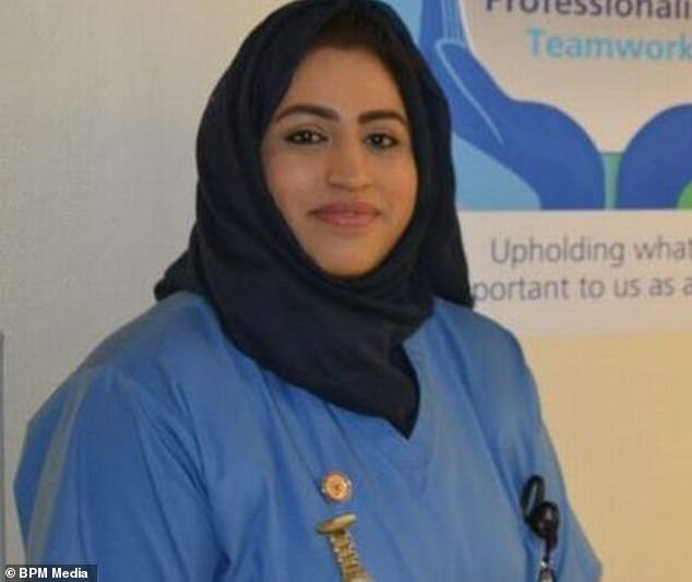 Areema Nasreen, 36, a Walsall staff nurse and mother-of-three, has died from coronavirus, becoming the country