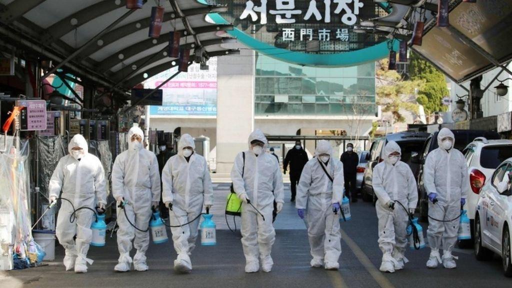 Coronavirus: South Korea declares highest alert as infections ...