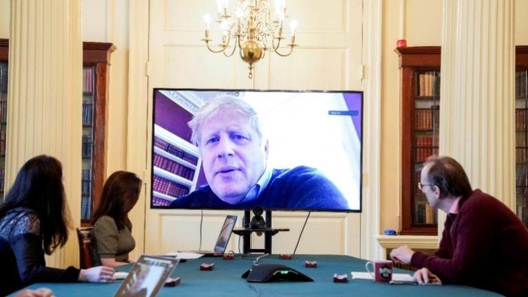 With PM Boris Johnson ill, coronavirus strikes at heart of British ...