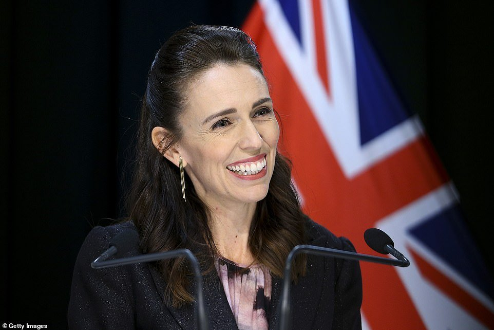 New Zealand Prime Minister Jacinda Ardern (pictured) has declared her country
