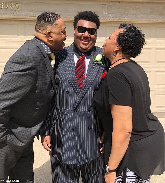 Freddie Lee Brown Jr., 59, left, died just days before his son Freddie Lee Brown III, center