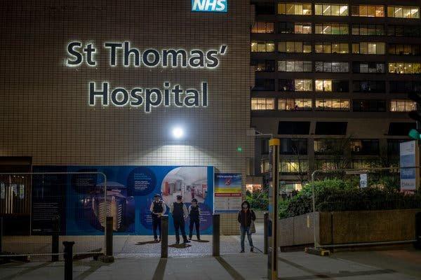 Boris Johnson Leaves Intensive Care, but Britain Faces Weeks More ...