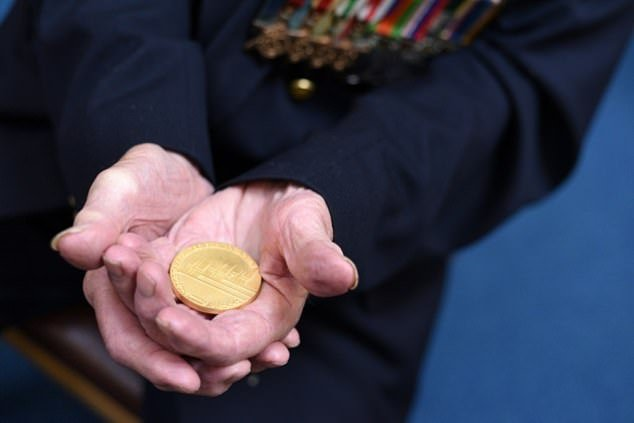 Three years ago, he received a medal from the Norwegian government for his help during the war