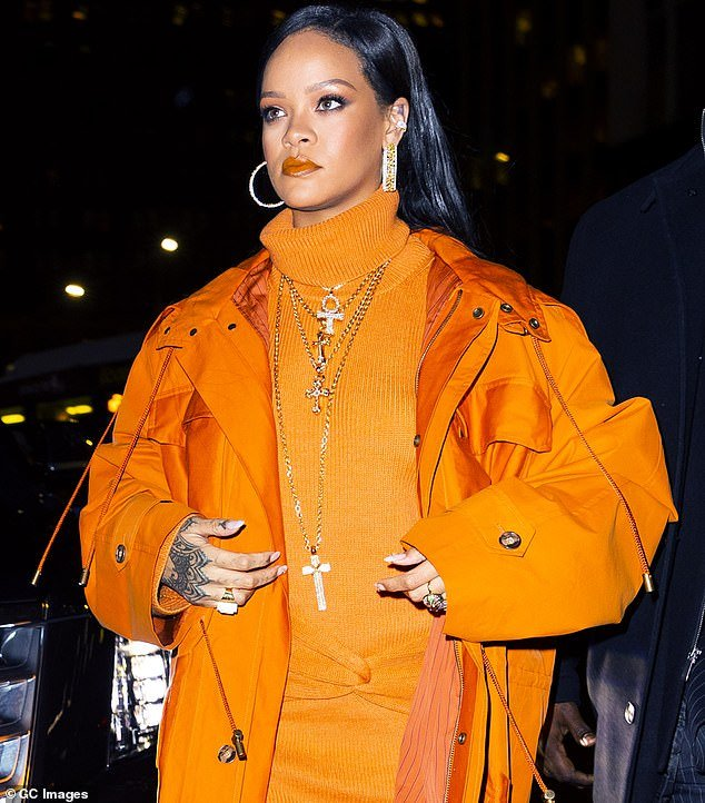 Giving back: Through her Clara Lionel Foundation, Rihanna, 32, announced the money will go in grants to organizations helping deal with the fallout of the pandemic