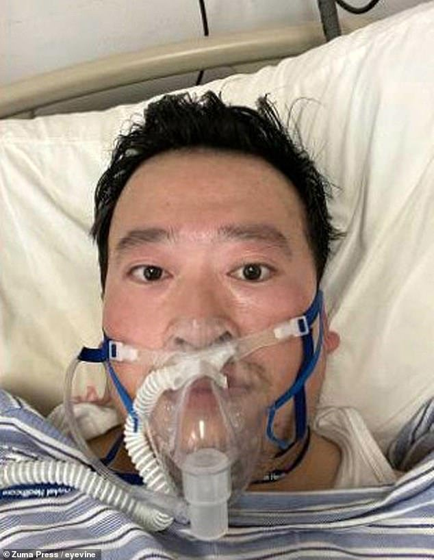 The crackdown began with reprimands issued to Dr Li Wenliang, 34, for warning  fellow medics about the virus. He died at Wuhan Central Hospital of Covid-19 on February 7