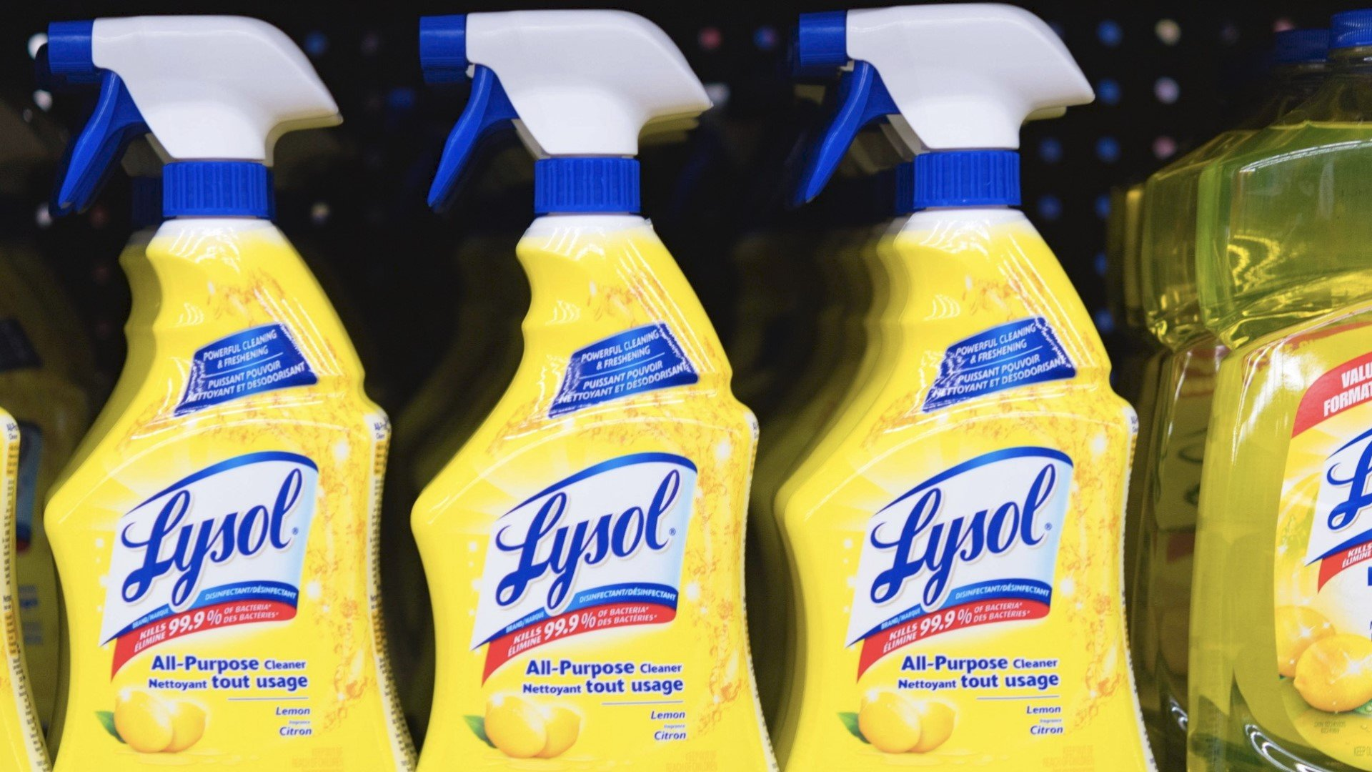 Maker of Lysol Issues Warning After President Trump Suggested ...