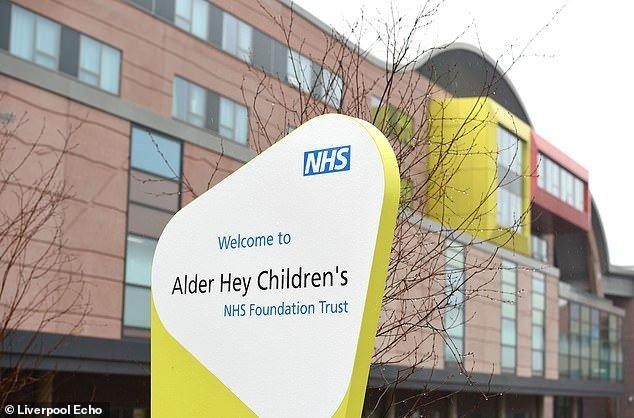 Doctorsat Alder Hey Children's Hospital, above have told Erin