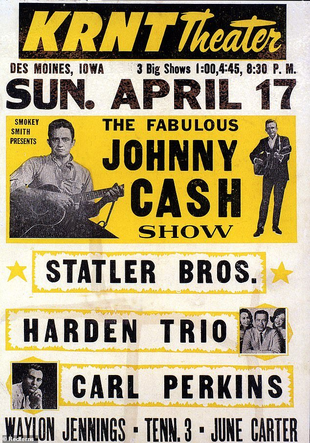 What a lineup: They went on the road with Johnny Cash and also featured on his TV variety program The Johnny Cash Show, which ran from 1969 to 1971