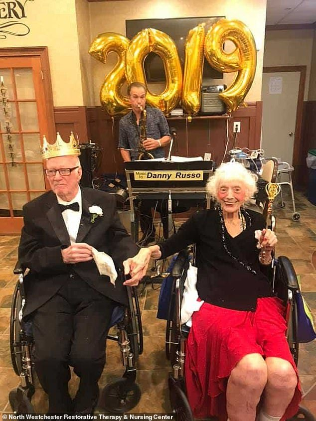 Nurses say Friedman is doing very well after recovering from coronavirus. Pictured above at a June 2019 spring prom event where she was crowned queen